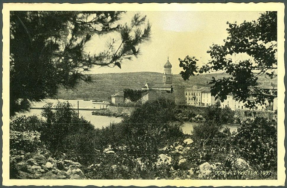Krk 1937. godine