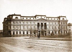 Leopold Stanisław Kronenberg - Kronenberg Palace in Warsaw, which was destroyed by fire in 1939