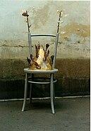 Krzeslo z Pypciem by Andrzej Glowacki