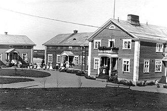 Haapajärvi - Image: Kunnalliskoti Haapajarvi