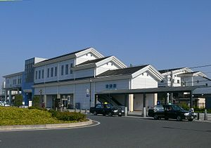 Kurihashi-Station-Westward exit.JPG