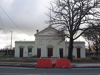 Kyneton - Kyneton Mechanics Hall