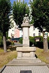 Pomník padlým z 1. světové války v Lázních Kynžvart