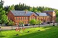 Līgantnes Kultūras centrs un bibliotēka. Līgatne Culture centre and Library. June, 2015 - panoramio.jpg