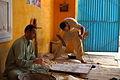 LANGAR; preparation area of free food to the needy at Golra Sharif 3.JPG