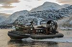 LCAC Hovercraft taking part in a beach assault MOD 45159546.jpg