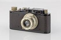LEI0150 198 Leica II schwarz - Sn. 67777 1931-M39 front view Umbau von Ic-0.jpg