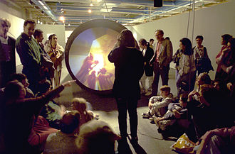 Interactive art - The Tunnel under the Atlantic (1995), Maurice Benayoun, Virtual Reality Interactive Installation : a link between Paris and Montreal