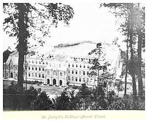 St Joseph's College, Darjeeling - The College in 1894