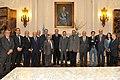 """La Cancillería argentina realizó hoy en el Palacio San Martín un encuentro con referentes del Foro de la ONG """"Peace"""" (6852613283).jpg"""