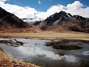 Melgar Province - Mountains at the La Raya pass