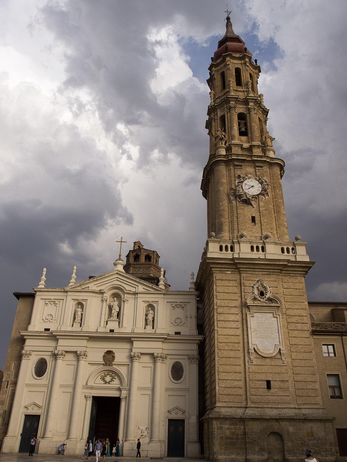 Catedral del Salvador de Zaragoza - Wikipedia, la enciclopedia libre