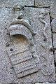 La tour carrée de Saint-Guénolé, détail. Panneau de bois (9615008000).jpg