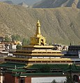 Labrang Monastery (拉卜楞寺) is home to the largest number of monks outside of Tibet. - panoramio.jpg