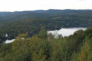 Lac-Beauport, Quebec - Lake Beauport
