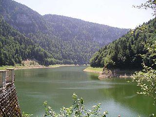 Lac de Moron reservoir