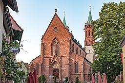 Ladenburg, St. Gallus, von Westen 20170601 001