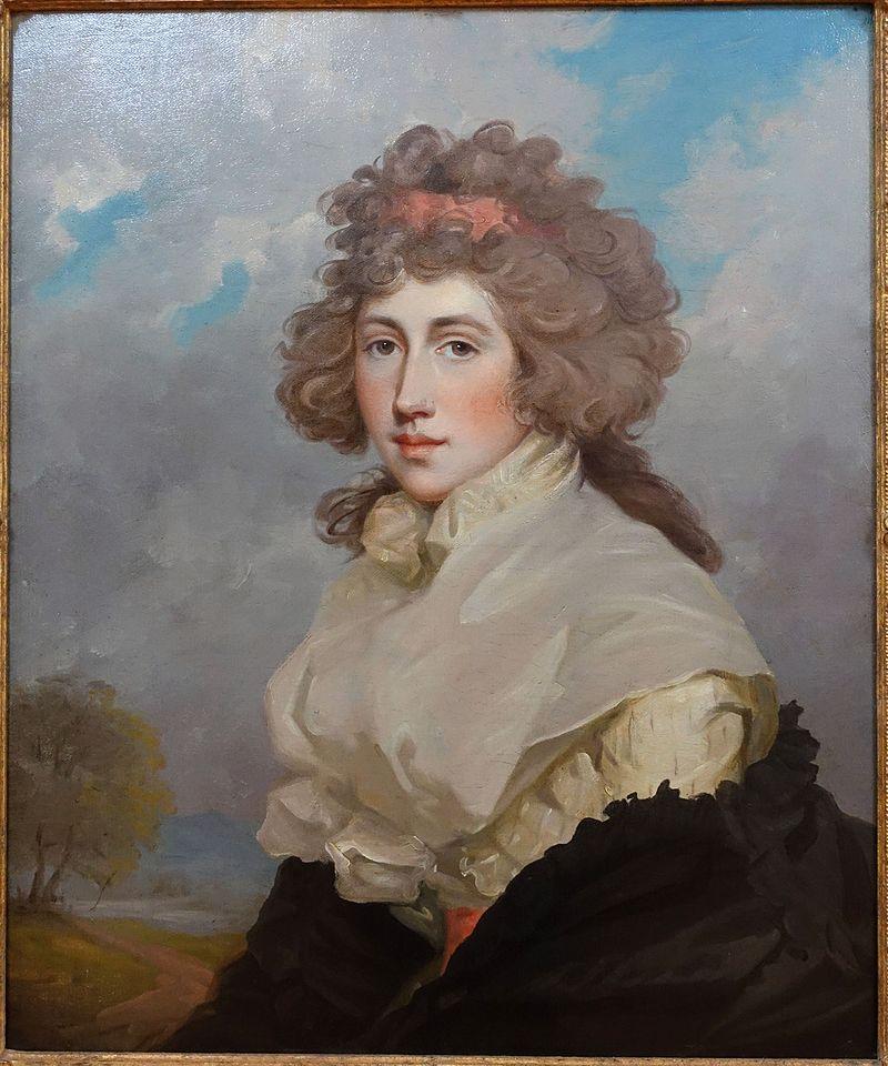 Lady Frances (Lascelles) Douglas by John Hoppner, 1784-1786, oil on canvas - Krannert Art Museum, UIUC - DSC06245.jpg