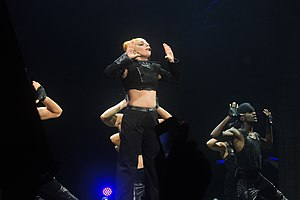 "Scheiße (song) - Lady Gaga performing ""Scheiße"" on the Born This Way Ball tour"