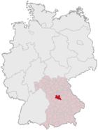 Lage des Landkreises Roth in Deutschland.png