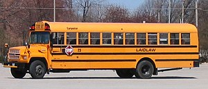 Chrome yellow - Image: Laidlaw school bus