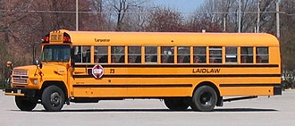 Chromate and dichromate - School bus painted in Chrome yellow