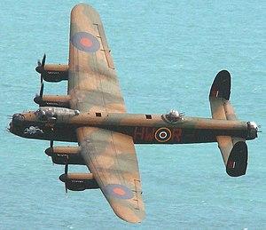 Avro Lancaster PA474 - Image: Lanc 2adj 2
