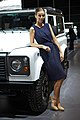 Land Rover at the 2013 Dubai Motor Show (10816703916).jpg