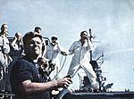 Landing signal officers aboard USS Lexington (CVA-16) c1961.jpg