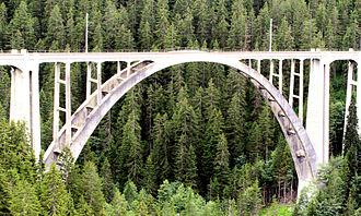 Langwieser Viaduct - Image: Langwiesbridge