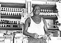 Lansana Kamara, pub shop owner, Kabala, Sierra Leone (West Africa), 1968 (2098862490).jpg