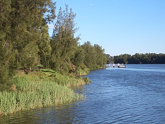 Lansvale, New South Wales - Image: Lansvale Floyd Bay 1