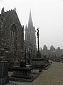 Lanvellec (22) Église, calvaire et ossuaire.JPG