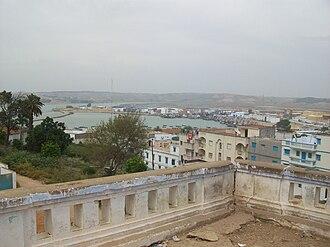 Larache - Image: Larache harbor
