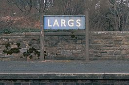 Largs railway station sign.jpg