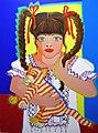 Latin girl, Rianna Murray´s portrait © 2004 Mirta Toledo.jpg