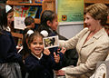 Laura Bush and a little girl.jpg