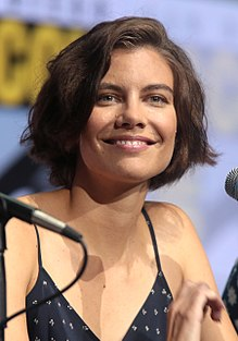 Lauren Cohan - the hot, beautiful,  actress, model,   with Irish, Scottish, English, Norwegian,  roots in 2020