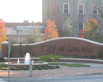 Laurens, South Carolina - Gateway Park