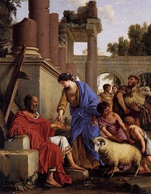 Laurent de La Hyre - Job Restored to Prosperity