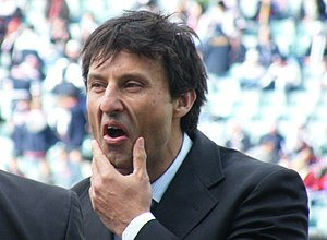 Laurie Daley - Laurie Daley working for the Nine Network
