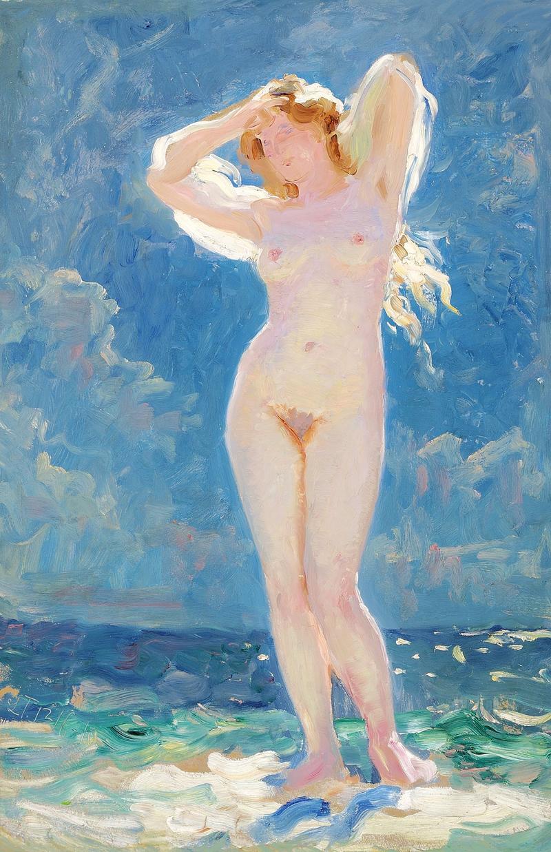 Лауриц Туксен - Баденде нимфе - 1910.png