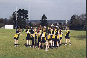 Benenden School - The Benenden Lacrosse team at the National School Tournament 2000