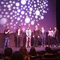 Lazer Team cast on stage (21691817672).jpg