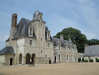 Louise de La Vallière - The Château de la Vallière, where Louise spent her childhood.