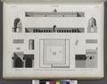 Le Kaire (Cairo). Plan, élévation, coupes et détails d'ornement de la Mosquée de Touloun (NYPL b14212718-1268741).tiff