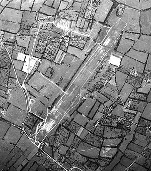 Le Molay Airfield - Le Molay Airfield (A-9D) after dismantling by the IX Engineering Command