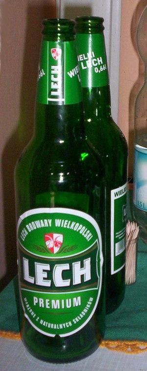 Lech Browary Wielkopolski - Image: Lech Premium bottle