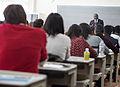 Lecture at Hitotsubashi University, Kunitachi (11050383955).jpg