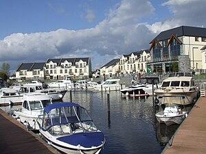 Leitrim, County Leitrim - Image: Leitrim village marina